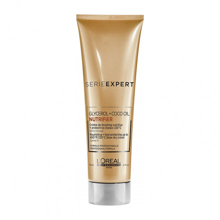 L'Oreal Serie Expert Nutrifier Glycerol + Coco Oil Blow-Dry Cream 150 ml