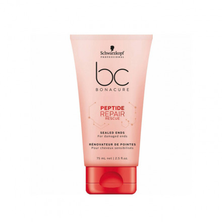 Schwarzkopf Professional BC Peptide Repair Rescue Sealed Ends 75 ml