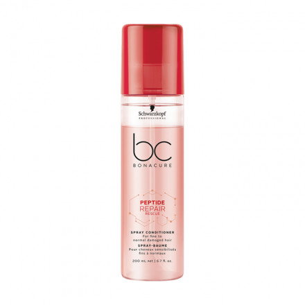 Schwarzkopf Professional BC Peptide Repair Rescue Spray Conditioner 200 ml
