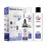 Nioxin Sistema 6 Trial Kit Cleanser + Scalp revitaliser + Scalp Treatment