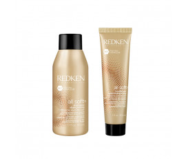 Redken All Soft Set Shampoo + Conditioner