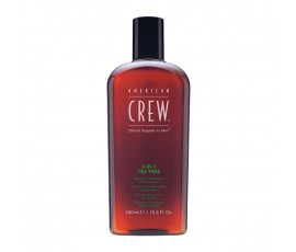 American Crew 3-in-1 Tea Tree Shampoo, Conditioner & Body Wash 450 ml