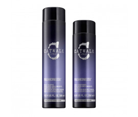 Tigi Kit Catwalk Fashionista Violet Shampoo + Conditioner