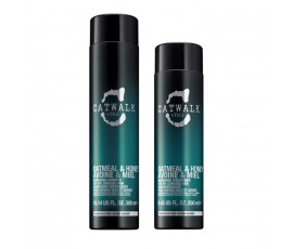 Tigi Kit Catwalk Oatmeal & Honey Shampoo + Conditioner