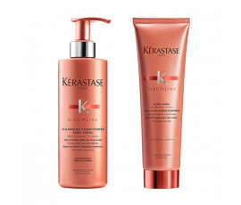 Kerastase Set Discipline Curl Ideal Cleansing Conditioner + Styling