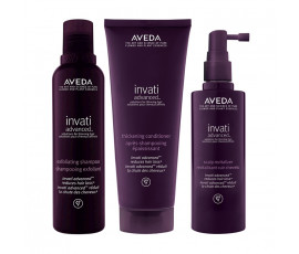 Aveda Set Invati Advanced Shampoo + Conditioner + Haarkur