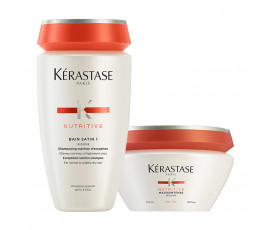 Kerastase Set Nutritive Irisome Bain 1 + Masque Feine Haare