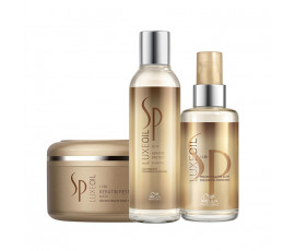 Wella SP Set LuxeOil Shampoo + Mask + Haaröl