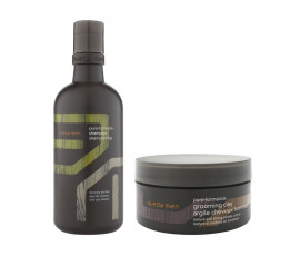 Aveda Set Men Pure-Formance Shampoo + Styling