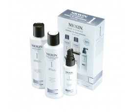 Nioxin Sistema 1 Trial Kit Cleaser + Scalp revitaliser + Scalp Treatment