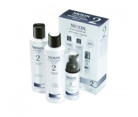 Nioxin Sistema 2 Trial Kit Cleanser + Scalp revitaliser + Scalp Treatment
