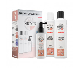 Nioxin Set 3-Phasen System 3 Shampoo + Conditioner + Haarkur