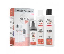 Nioxin Set 3-Phasen System 4 Shampoo + Conditioner + Haarkur