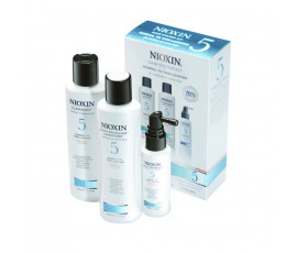 Nioxin Sistema 5 Trial Kit Cleanser + Scalp revitaliser + Scalp Treatment